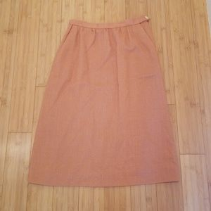 Vintage Hight Waisted Pencil Skirt with Pocket